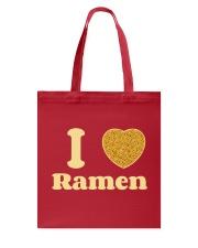 I love Ramen Tote Bag thumbnail