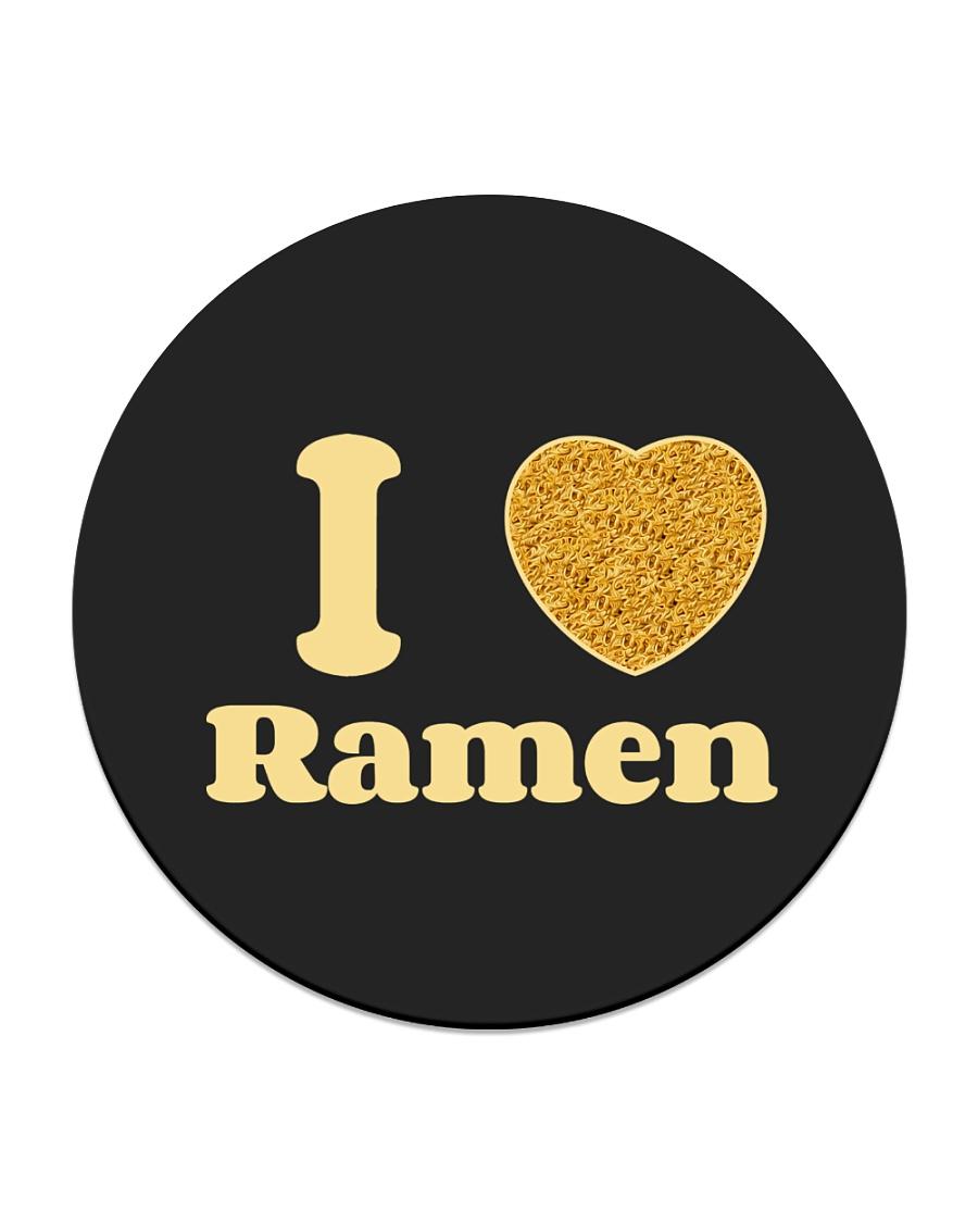 I love Ramen Circle Coaster