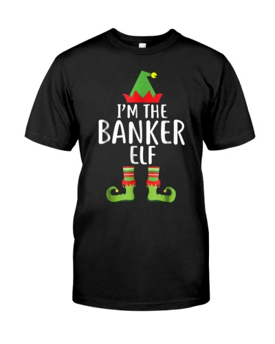Im The Banker Elf Matching Family Group Christmas