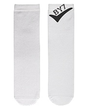 BY7 Crew Length Socks front