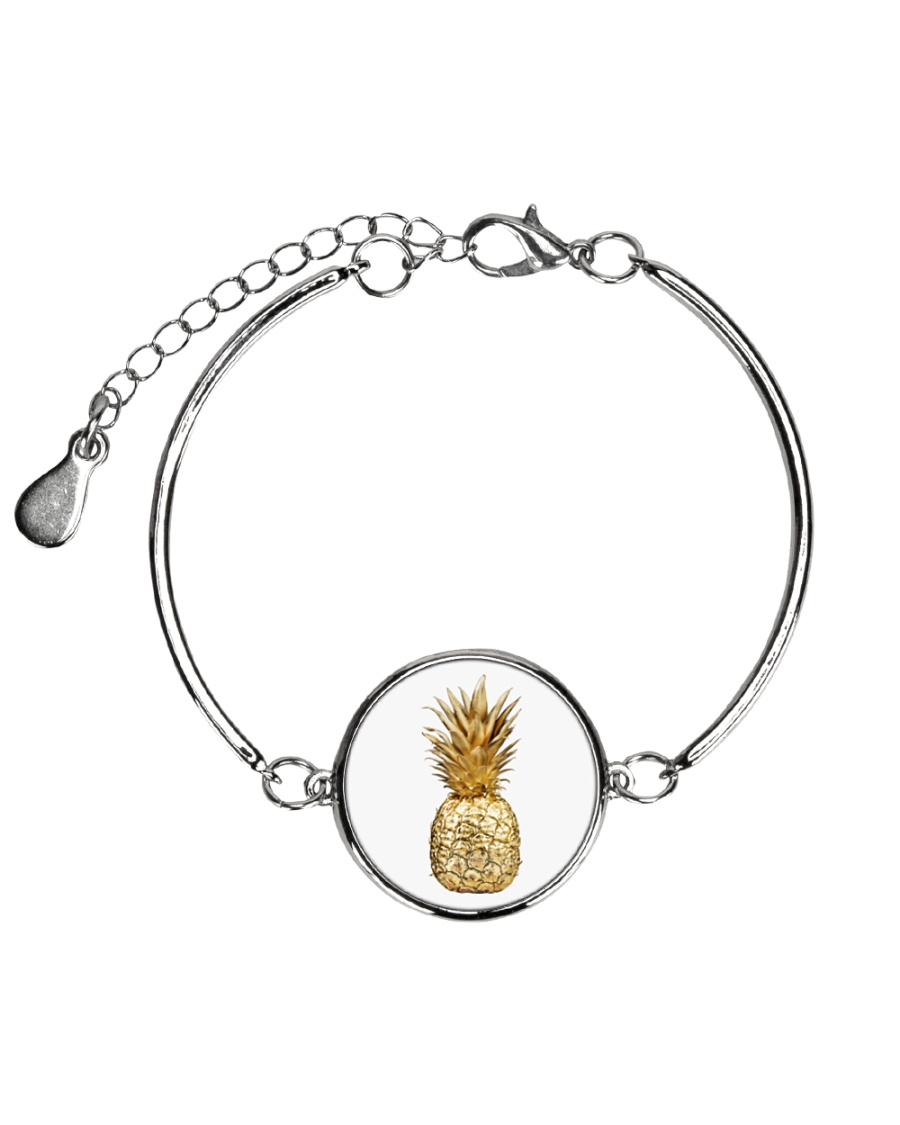 BY7 Metallic Circle Bracelet