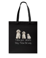 Shih Tzu Dreams Tote Bag thumbnail