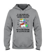 Unicorn grow up 2111 Hooded Sweatshirt thumbnail