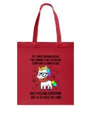 Unicorn grow up 2111 Tote Bag thumbnail