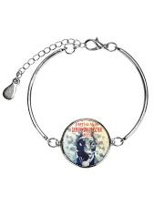 Doberman Pinscher Smile 1506 Metallic Circle Bracelet thumbnail