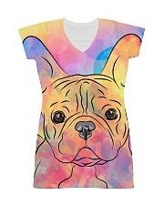 French Bulldog Color Summer All-over Dress thumbnail