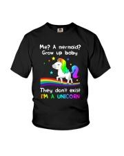 Unicorn grow up 0810 Youth T-Shirt thumbnail