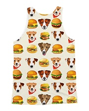 Jack Russell Terrier hamburger 1406L All-over Unisex Tank back