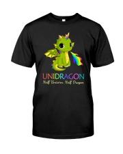 Half Unicorn Half Dragon 2906 Classic T-Shirt front