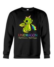 Half Unicorn Half Dragon 2906 Crewneck Sweatshirt thumbnail