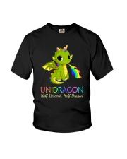 Half Unicorn Half Dragon 2906 Youth T-Shirt thumbnail