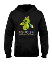 Half Unicorn Half Dragon 2906 Hooded Sweatshirt thumbnail