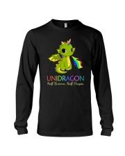 Half Unicorn Half Dragon 2906 Long Sleeve Tee thumbnail