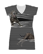Great Dane Striped  All-over Dress thumbnail