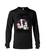 Vegan - Every mother deserves respect 2106P Long Sleeve Tee thumbnail