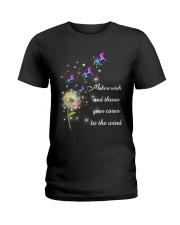 Unicorn Make A Wish Ladies T-Shirt thumbnail