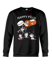 Unicorn Happy Pills  Crewneck Sweatshirt front
