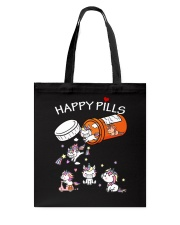 Unicorn Happy Pills  Tote Bag tile