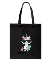 Unicorn Fabulous Tote Bag thumbnail