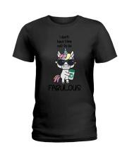 Unicorn Fabulous Ladies T-Shirt thumbnail
