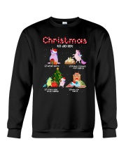 Unicorn Chrismas To Do List 2709 Crewneck Sweatshirt thumbnail