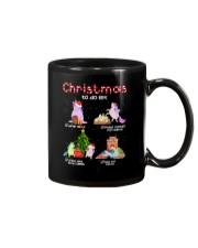 Unicorn Chrismas To Do List 2709 Mug thumbnail