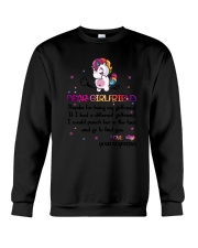Unicorn Girlfriend Crewneck Sweatshirt thumbnail