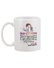 Unicorn Girlfriend Mug back
