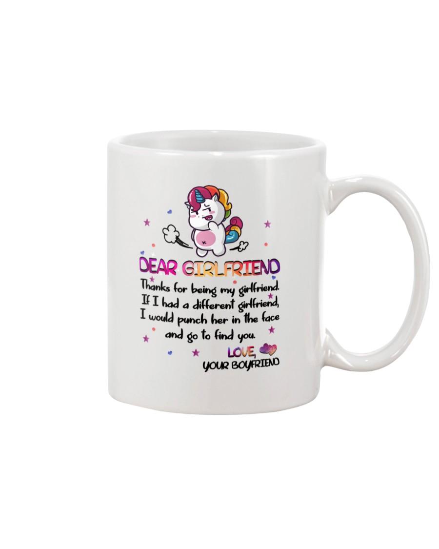 Unicorn Girlfriend Mug