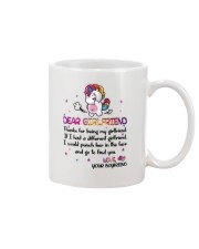 Unicorn Girlfriend Mug front