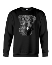 Rottweiler - Those teach us 2006L Crewneck Sweatshirt thumbnail