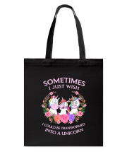 Unicorn transformed 111 Tote Bag thumbnail