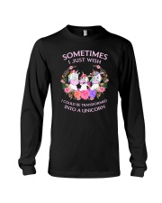 Unicorn transformed 111 Long Sleeve Tee thumbnail