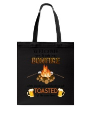Camping Bonfire Beer Toasted 1406 Tote Bag thumbnail
