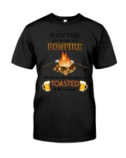 Camping Bonfire Beer Toasted 1406 Classic T-Shirt thumbnail