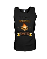 Camping Bonfire Beer Toasted 1406 Unisex Tank tile