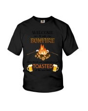 Camping Bonfire Beer Toasted 1406 Youth T-Shirt thumbnail