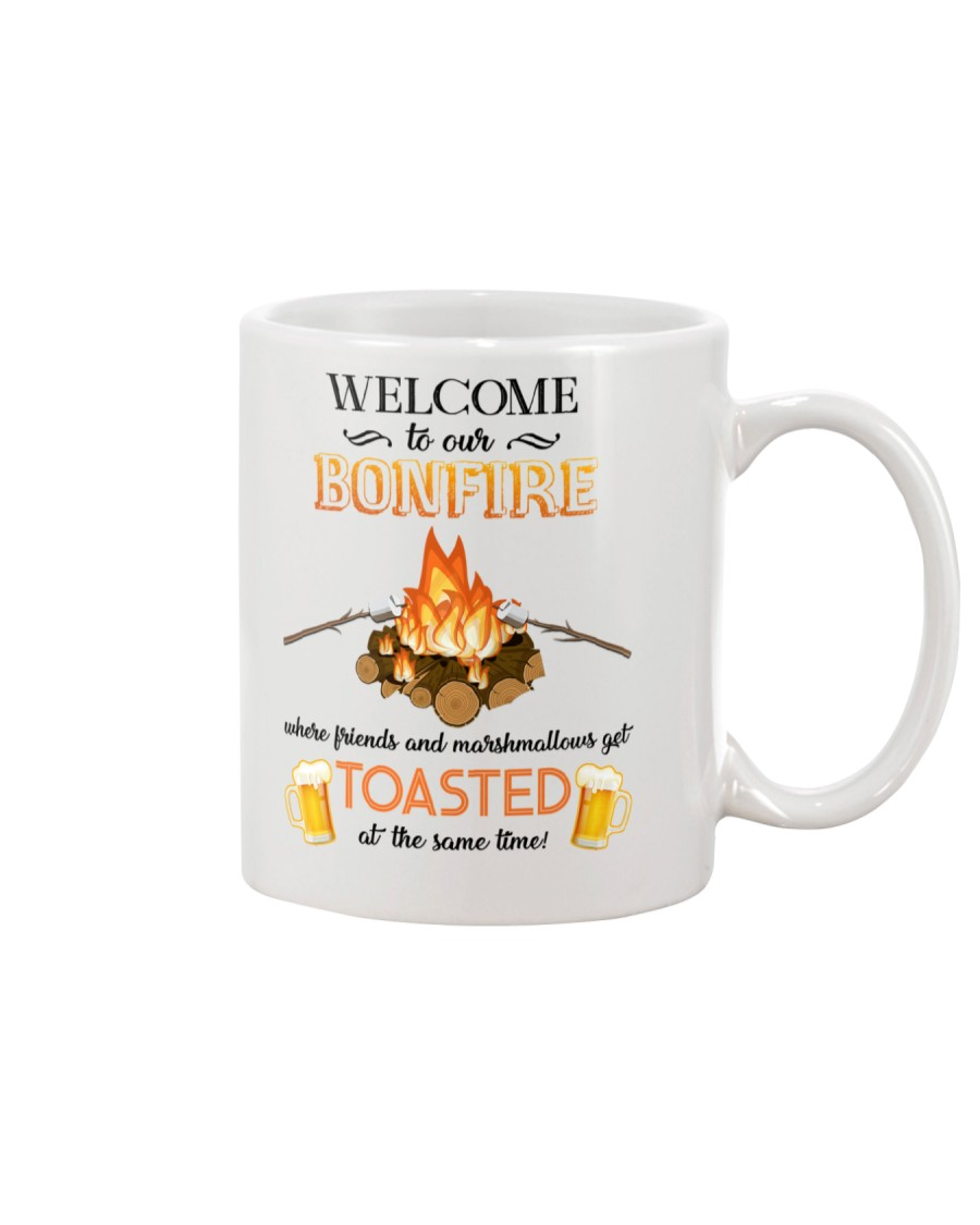 Camping Bonfire Beer Toasted 1406 Mug
