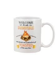 Camping Bonfire Beer Toasted 1406 Mug front