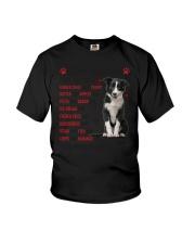 Border Collie - Dear Mommy 1406D Youth T-Shirt thumbnail