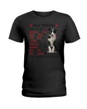 Border Collie - Dear Mommy 1406D Ladies T-Shirt thumbnail