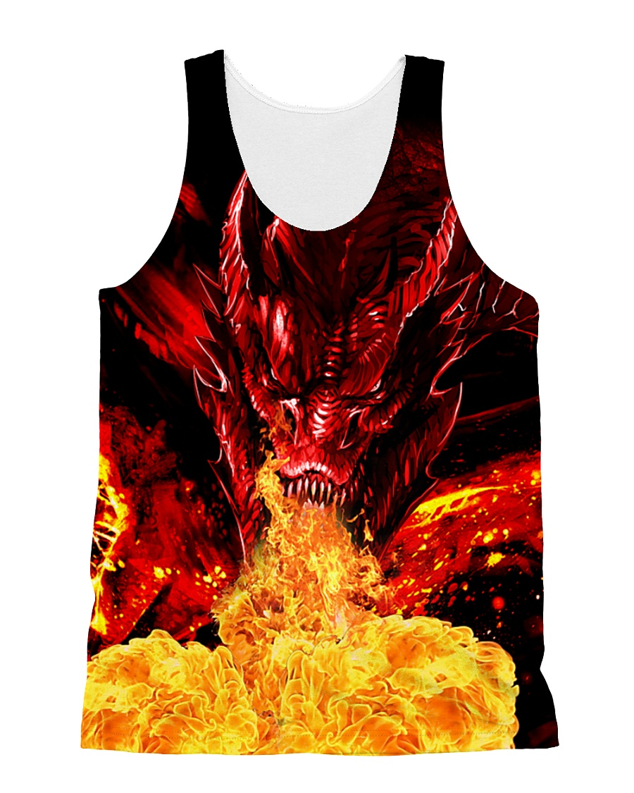 Dragon Fire 1606 All-over Unisex Tank