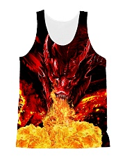 Dragon Fire 1606 All-over Unisex Tank front