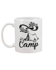 Camping Live Love 2006 Mug back