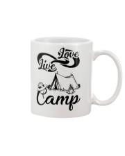 Camping Live Love 2006 Mug front