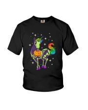 Unicorn Skeleton halloween 0108 Youth T-Shirt thumbnail