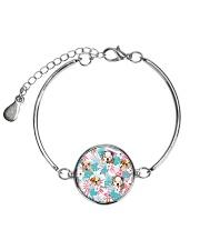 Bulldog Flower 1406 Metallic Circle Bracelet thumbnail