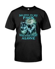 Wolf No one 1806 Classic T-Shirt front