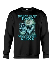 Wolf No one 1806 Crewneck Sweatshirt thumbnail
