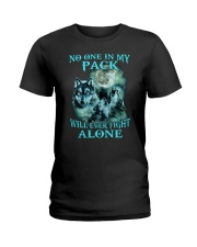 Wolf No one 1806 Ladies T-Shirt thumbnail